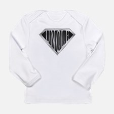 SuperUncle(metal) Long Sleeve Infant T-Shirt