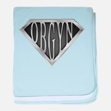 SuperOBGYN(metal) baby blanket