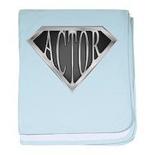 SuperActor(metal) baby blanket