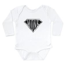 SuperMonk(metal) Long Sleeve Infant Bodysuit