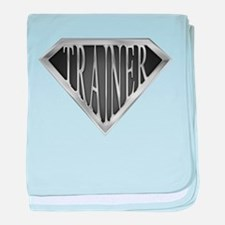 SuperTrainer(metal) baby blanket