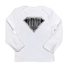 SuperTrainer(metal) Long Sleeve Infant T-Shirt