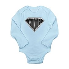 SuperVice(metal) Long Sleeve Infant Bodysuit