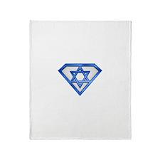 Super Jew/Israeli Throw Blanket