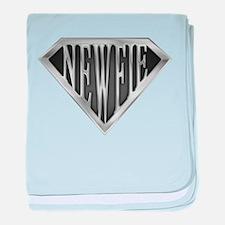 SuperNewfie(metal) baby blanket