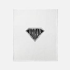 SuperVegan(Metal) Throw Blanket