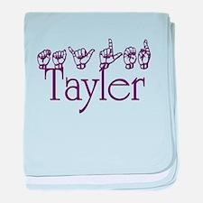 Tayler baby blanket