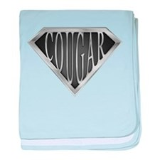 SuperCougar(metal) baby blanket