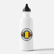Belgium Football Water Bottle