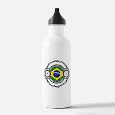 Brazil Biking Water Bottle