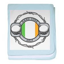 Ireland Golf baby blanket