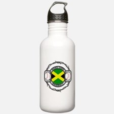 Jamaica Baseball Water Bottle