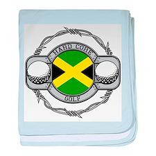 Jamaica Golf baby blanket