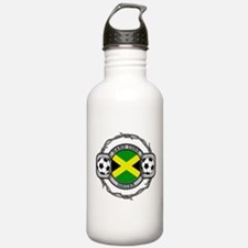 Hardcore Jamaica Socce Water Bottle