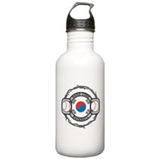 Korean Baseball Water Bottle