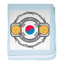 Korean Water Polo baby blanket
