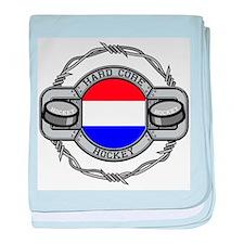 Netherlands Hockey baby blanket