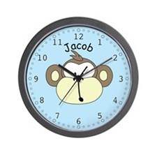 Jacob - Monkey Wall Clock