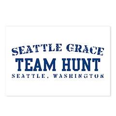 Team Hunt - Seattle Grace Postcards (Package of 8)