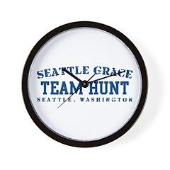Team Hunt - Seattle Grace Wall Clock