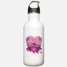 Peace Love Pilates by Svelte.biz Water Bottle