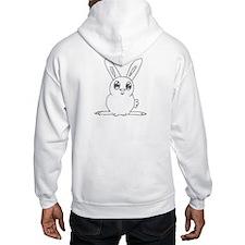 White Bunny Hoodie