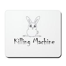 White Bunny Mousepad
