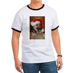 Christmas German Shepherd T