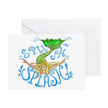 Splish Splash Greeting Cards (Pk of 10)