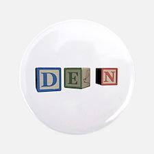 "Den Alphabet Block 3.5"" Button"