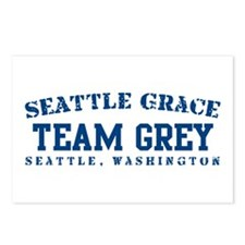 Team Grey - Seattle Grace Postcards (Package of 8)