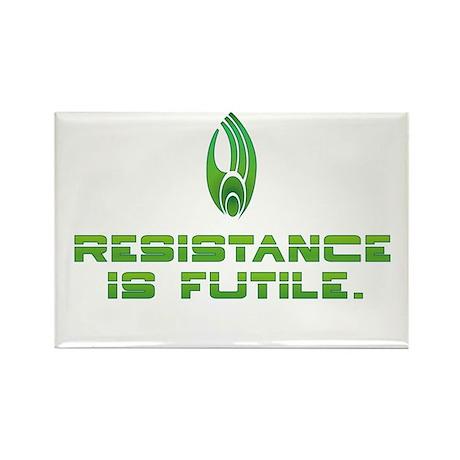 Star Trek - Borg Resistance Rectangle Magnet