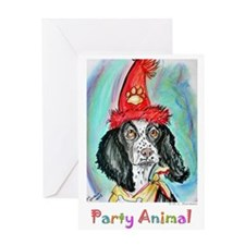 Party Animal, Fun Dog, Greeting Card