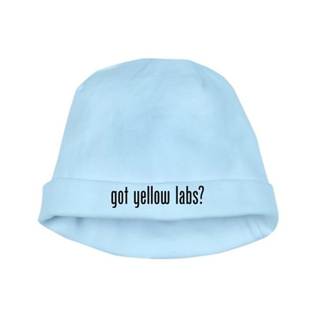 Got Yellow Labs baby hat