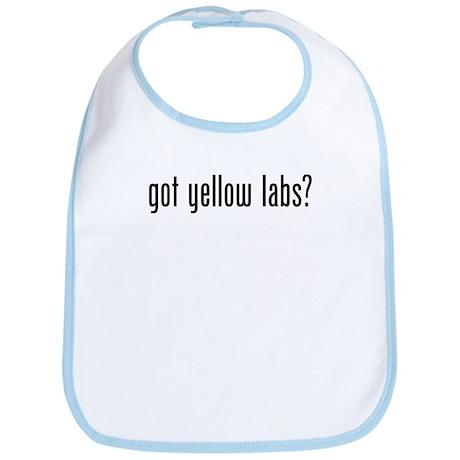Got Yellow Labs Bib