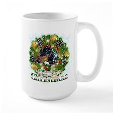 Merry Christmas Doberman 2 Mug