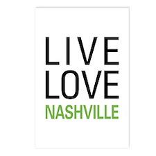 Live Love Nashville Postcards (Package of 8)