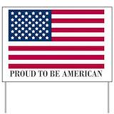 Proud american Yard Signs