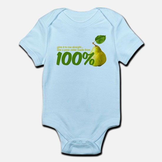 100% pear(s) Infant Bodysuit