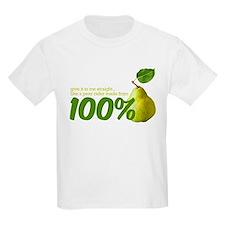 100% pear(s) T-Shirt