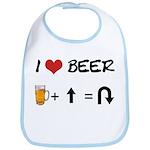 Beer + straight arrow Bib