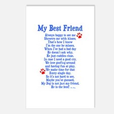 My Best Friend Dog Postcards (Package of 8)