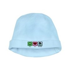 Peace Love Real Estate baby hat