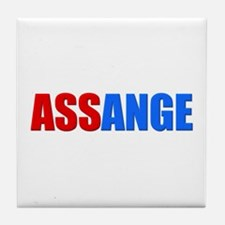 ASSange Tile Coaster