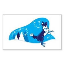 Snowflake Catch Decal