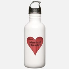 I Love Musical Theatre Water Bottle