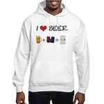 Beer + police Hooded Sweatshirt