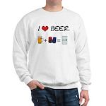 Beer + police Sweatshirt