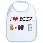 Beer + police Bib