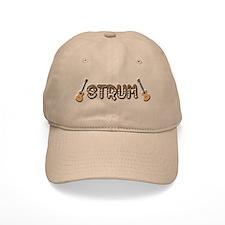 Ukulele Baseball Cap